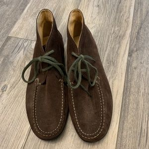 Land End Deep Brown Chukka Style Boots Mens 8